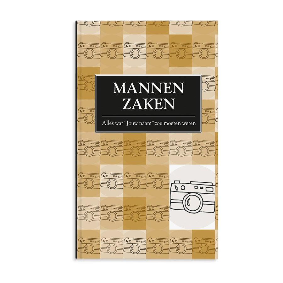 Boek met naam en foto - Mannenzaken - Softcover