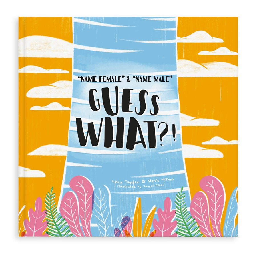 Guess what?! - Hardcover