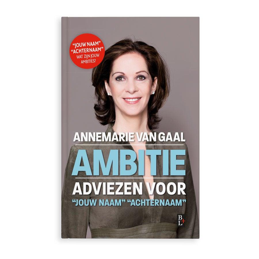 Boek met naam - Ambitie - Hardcover