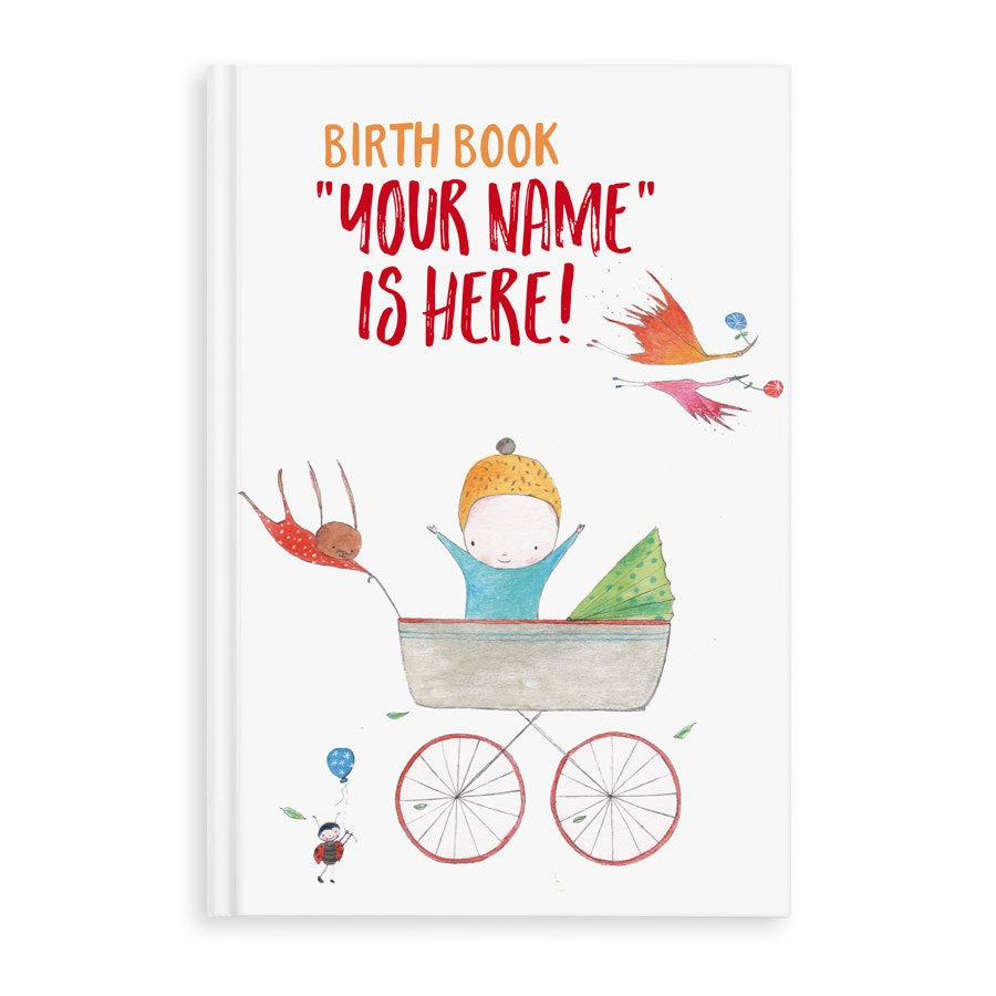Book with name - Birth Book