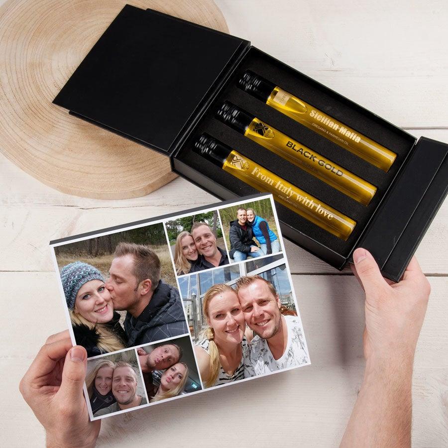 Tubes gift box - Oils