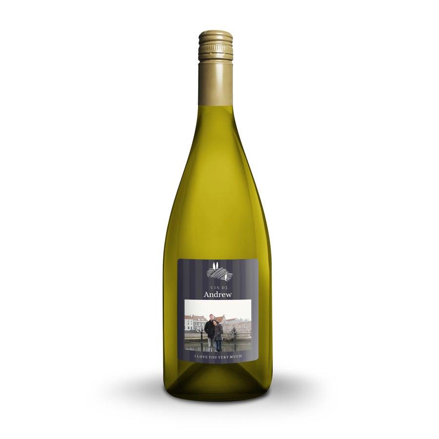 Wijn met bedrukt etiket - Salentein - Chardonnay