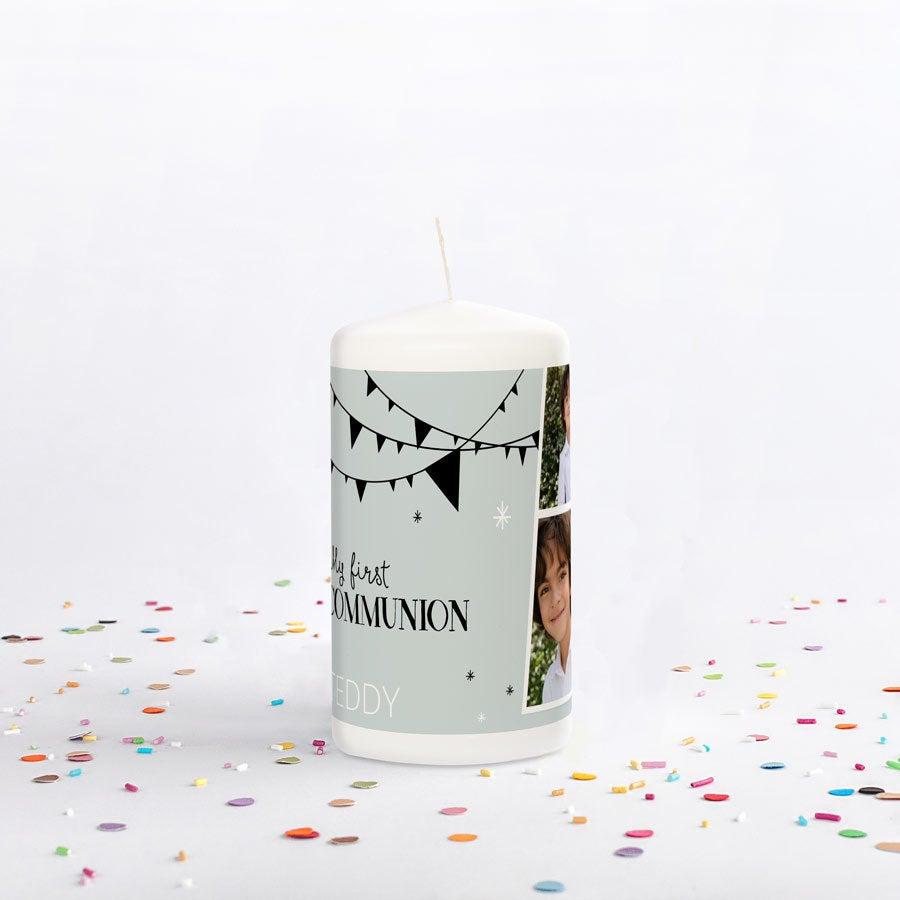 Přijímací svíčka - 13 x 7 cm