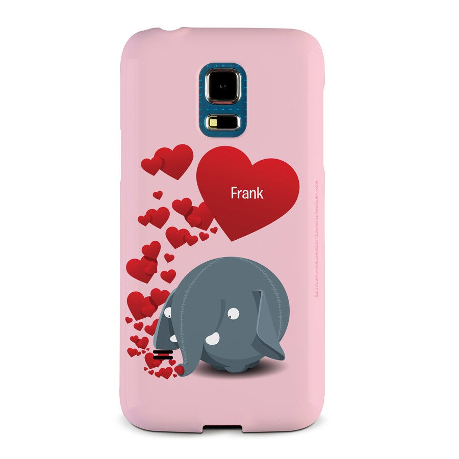 Olli - Samsung Galaxy S5 mini - foto case rondom bedrukt