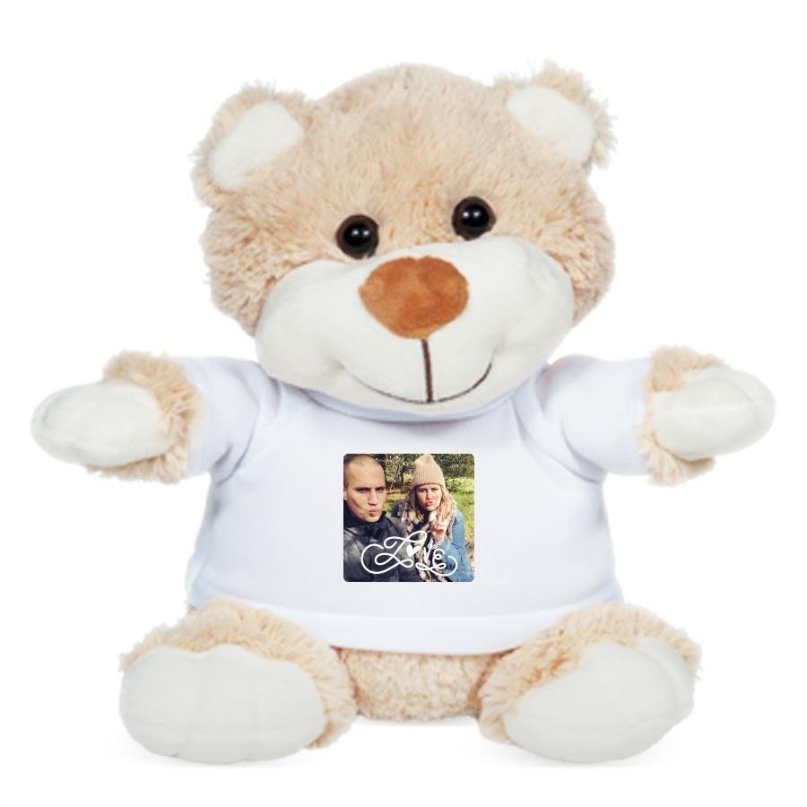 Peluche con camiseta personalizada - Betsy Bear