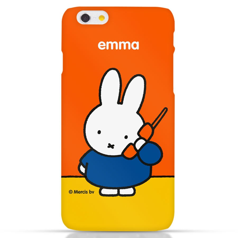 Miffy Handyhüllen - iPhone 6 - Fotocase rundum bedruckt