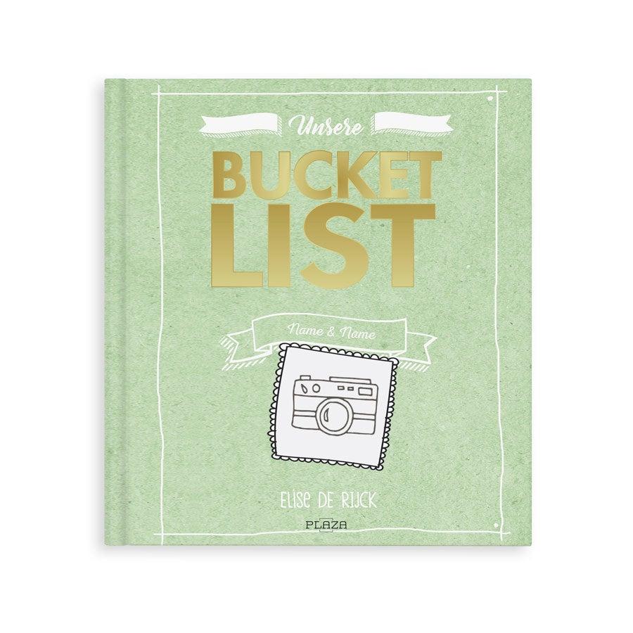 Das Bucket List Buch für Paare - Hardcover