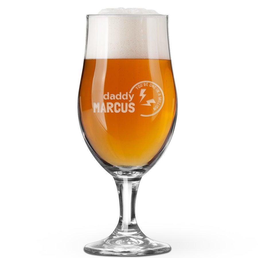 Isänpäivän olutlasi - varrellinen