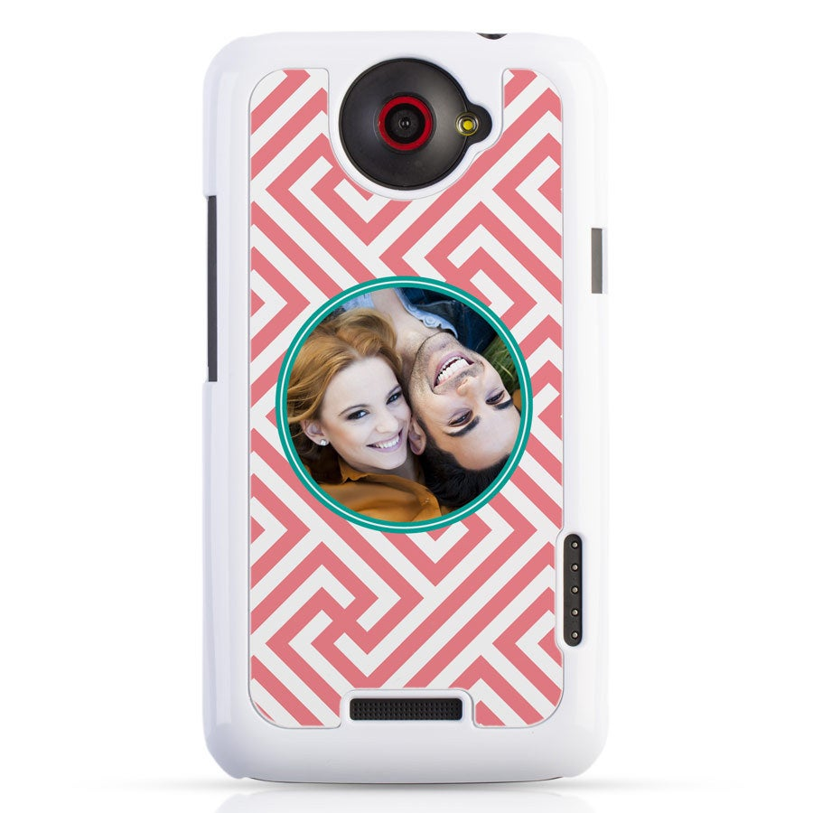 HTC One X - fotografické puzdro biele