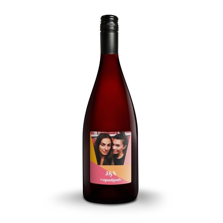 Wijn met bedrukt etiket - Yalumba Organic Shiraz
