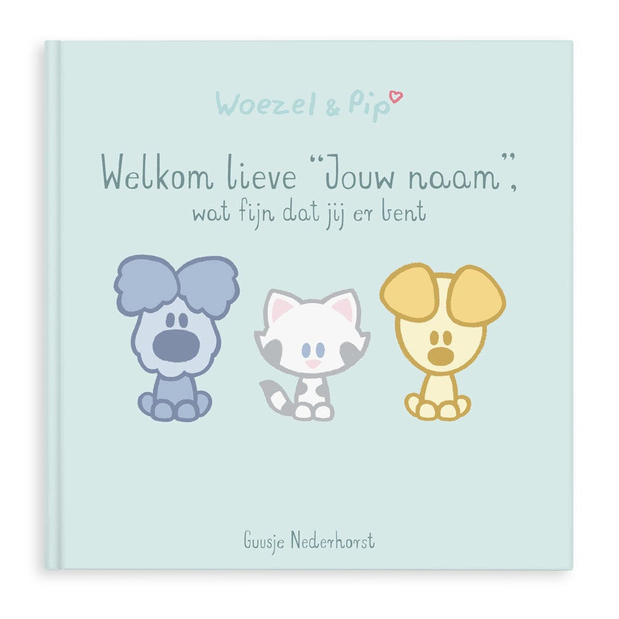 Woezel & Pip babyboek - Hardcover