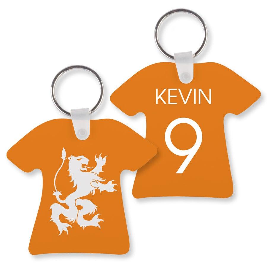 Sleutelhanger bedrukken - Voetbalshirt