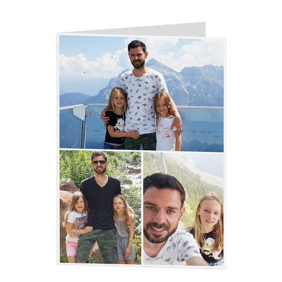Fotokaart - XL - Staand