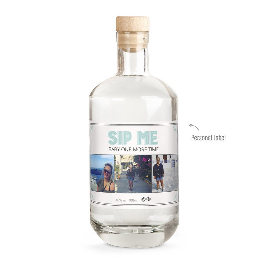 Gin with printed label - YourSurprise own brand