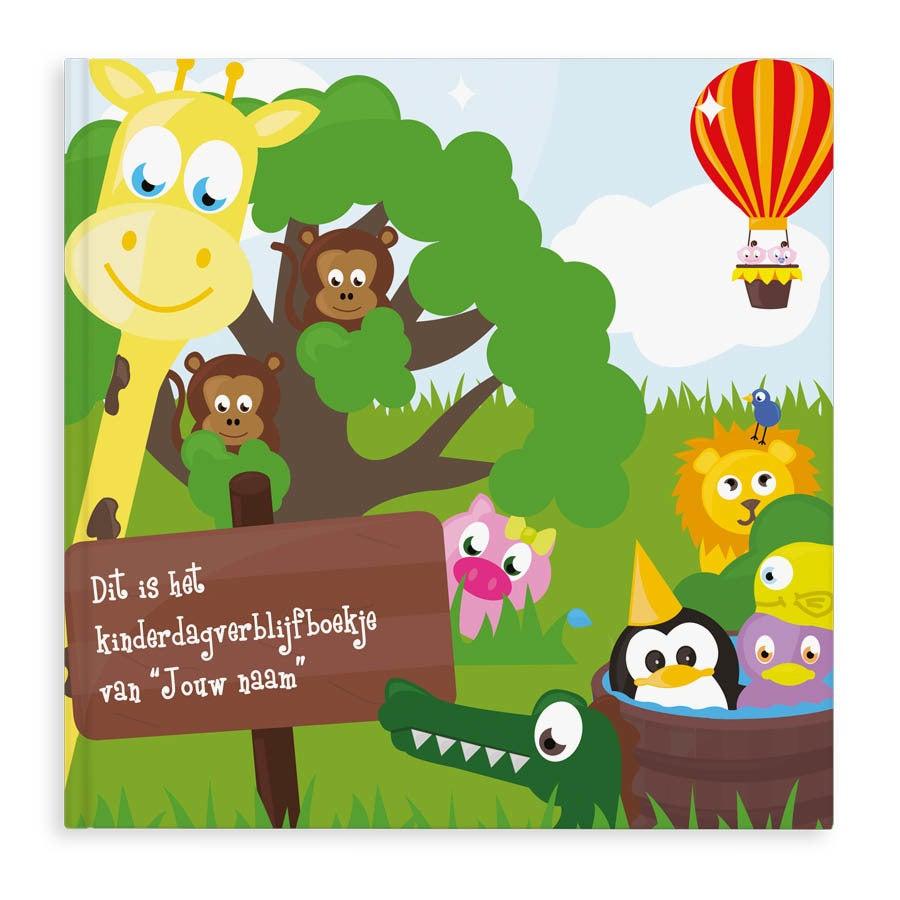 Boek met naam - Kinderdagverblijf boekje - Softcover