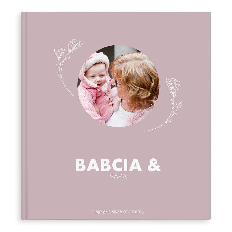 Fotoksiążka - Babcia & Ja  -  XL - Twarda okładka- 40 stron
