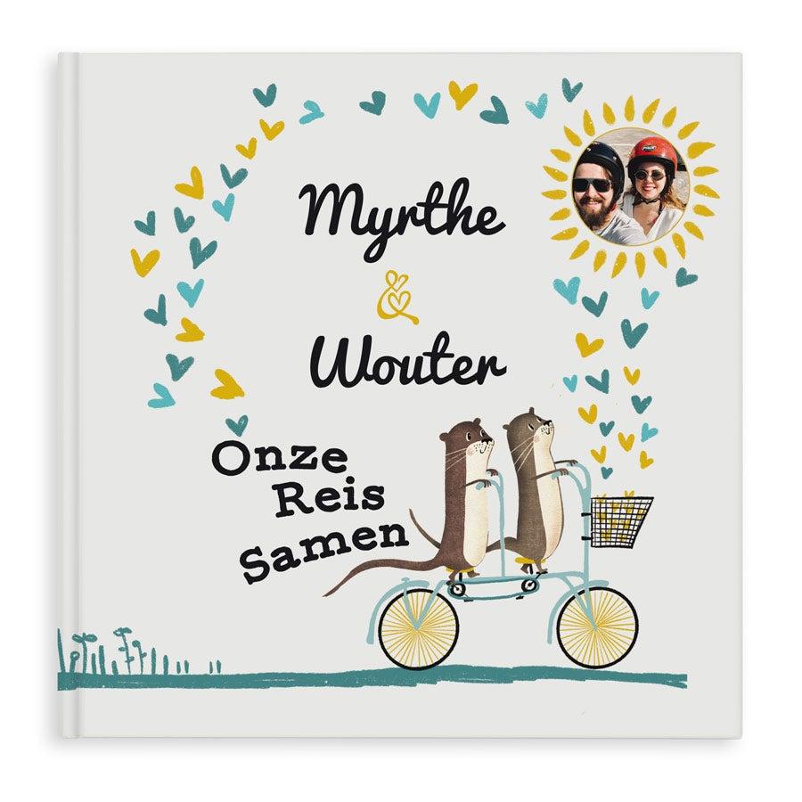 Gepersonaliseerd boek -  Onze Reis Samen - Hardcover