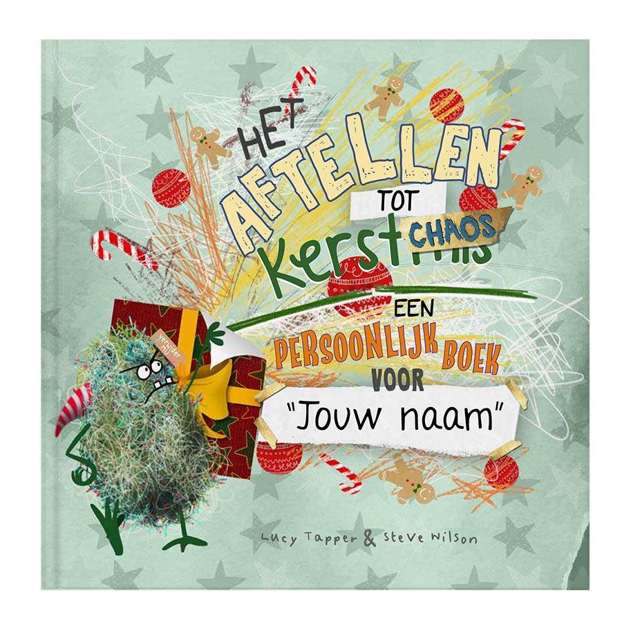 Boek met naam - Kerstchaos doeboek - Hardcover