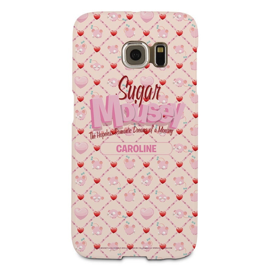 Sugar Mousey - Coque Samsung Galaxy S6 Edge - Impression intégrale