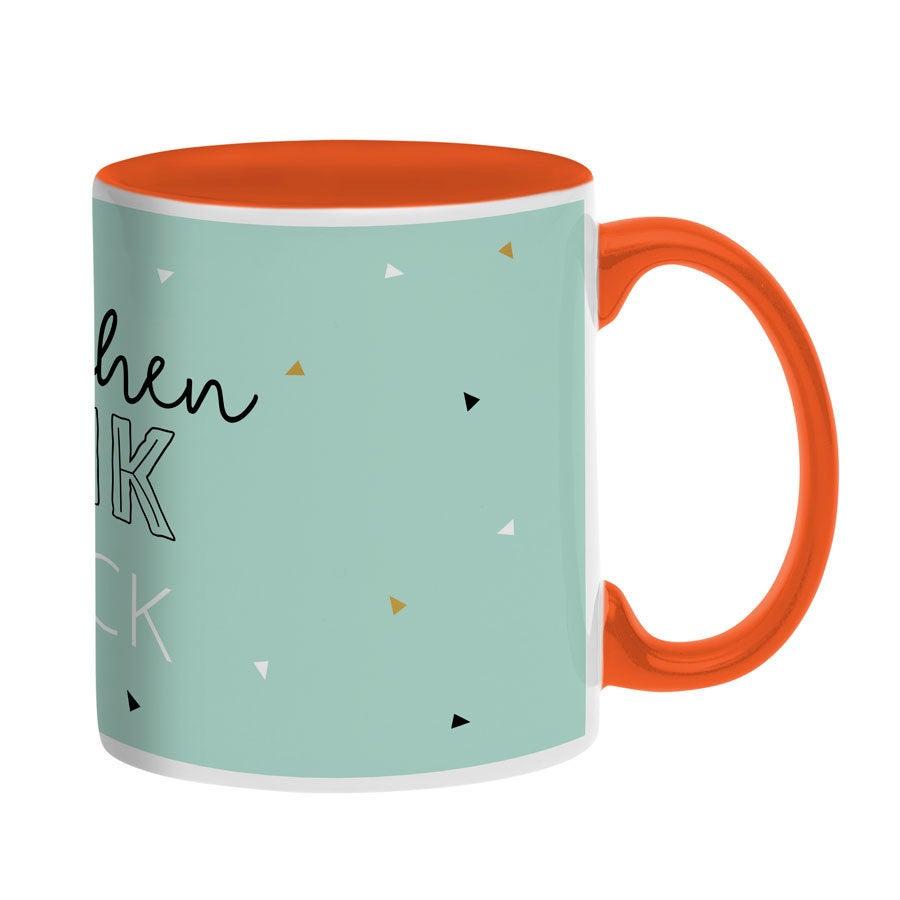 Tassen beschriften - Tasse mit Namen - Orange