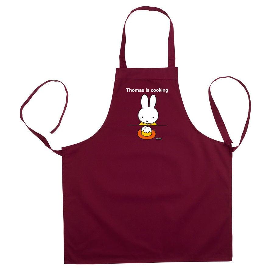 Keittiön esiliina miffy - Bordeaux