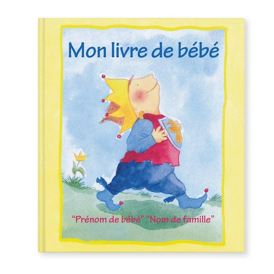 Livre personnalisé - Mon livre de bébé