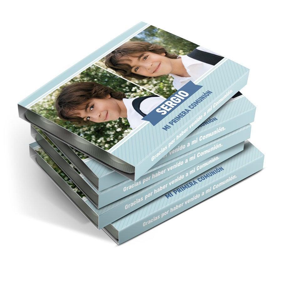 Cajas de chicles para invitados - 8 paquetes