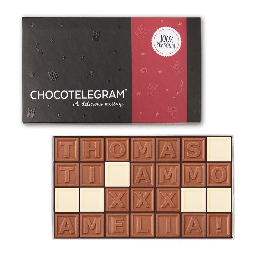 Telegramma di cioccolato - 28 caratteri