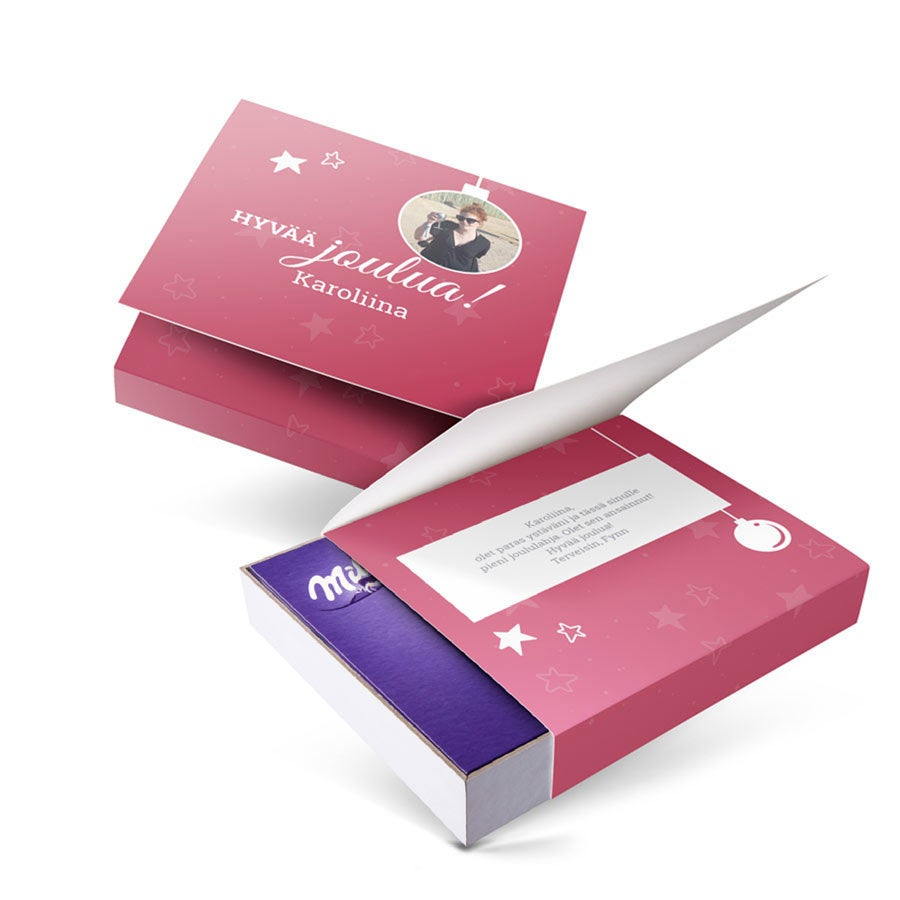 I love Milka -suklaarasia - Joulu - 220 grammaa