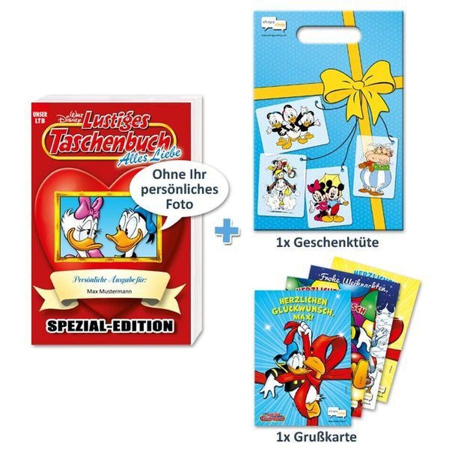 Lustige Taschenbücher Geschenkpaket - Liebe - 1 Person