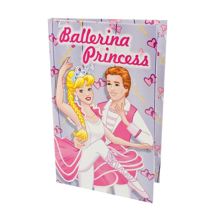 Buch mit Namen – Ballerina Prinzessin