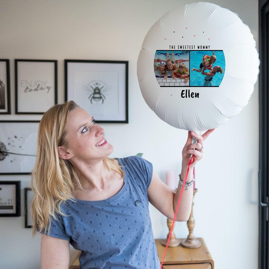 Balon z fotografi± - Dzieñ Mamy