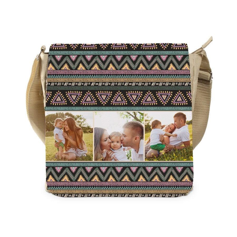 Shoulder bag large - beige