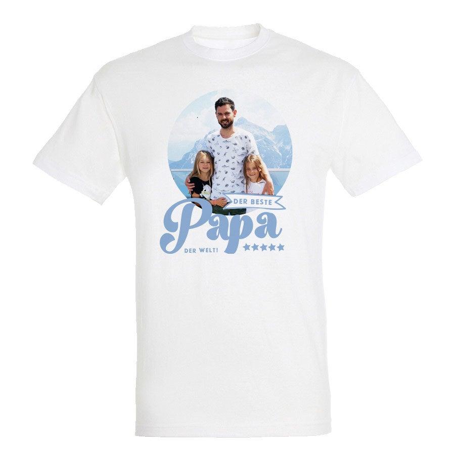 Vatertag T-Shirt - Weiß - S