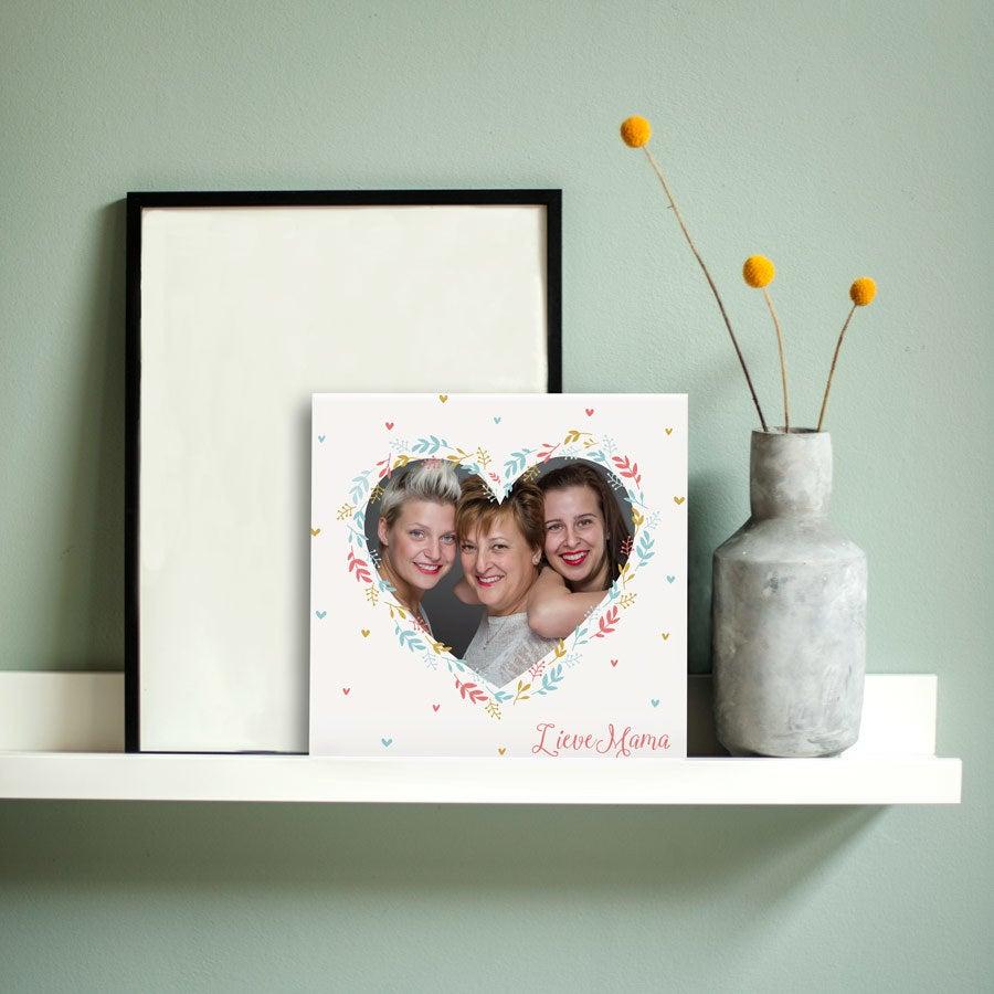 Azulejo do Dia da Mãe - Cerâmica - Impressão