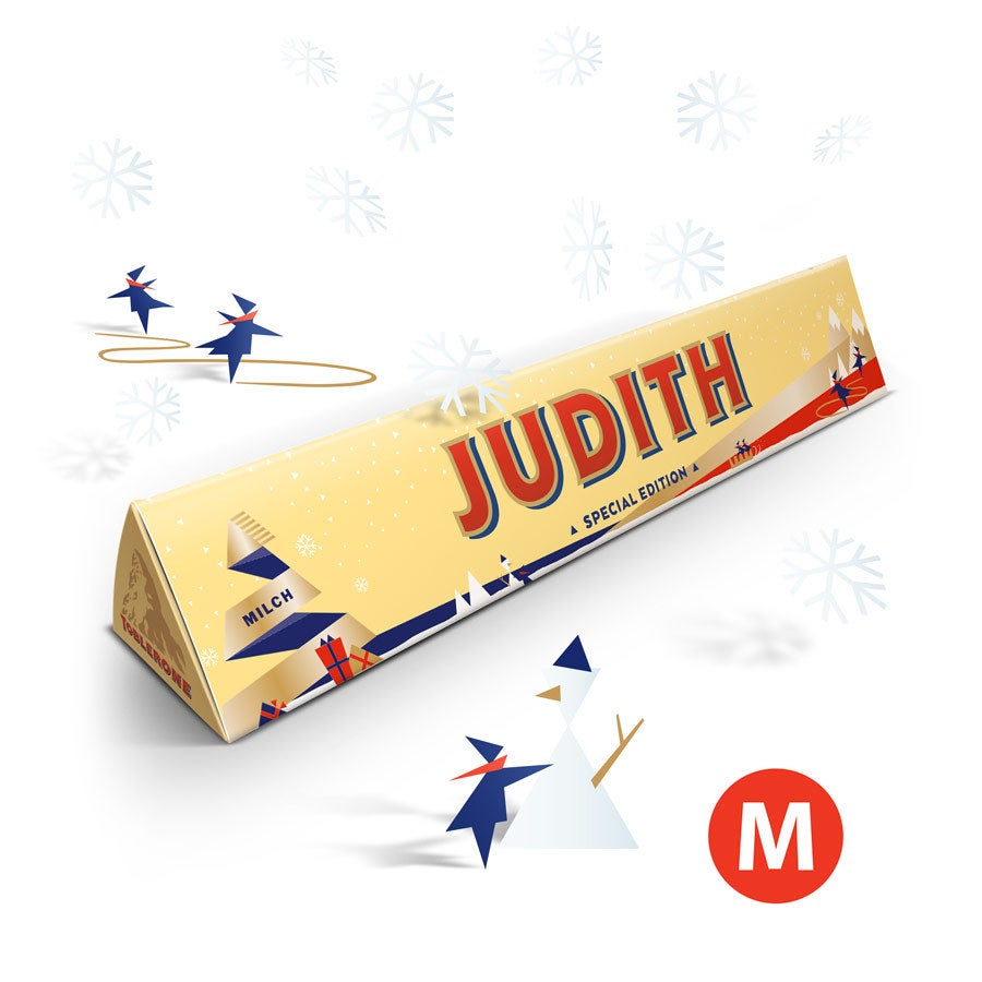 Toblerone chocoladereep - Kerst - 200 gram