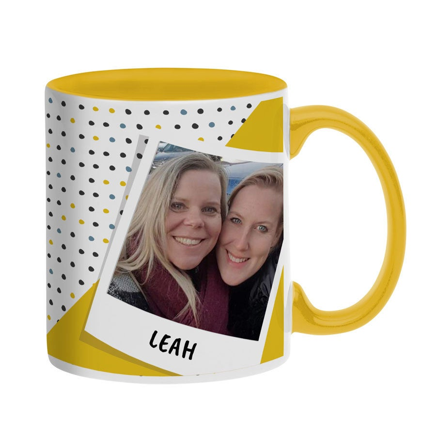 Photo Mug - Yellow