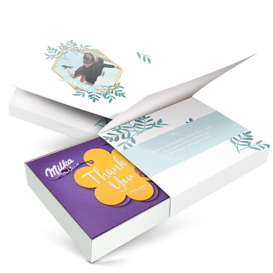 Milka giftbox bedrukken - Algemeen - 220 gram