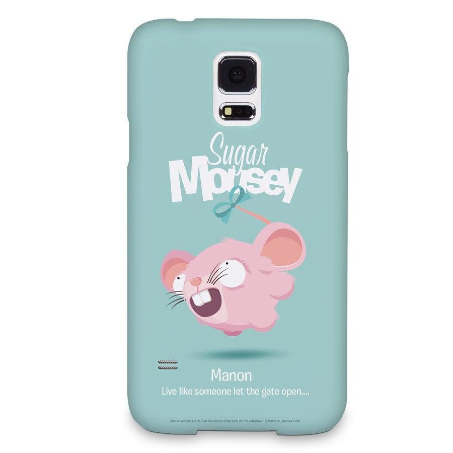 Capa de celular Sugar Mousey - Samsung Galaxy S5 - impressão 3D