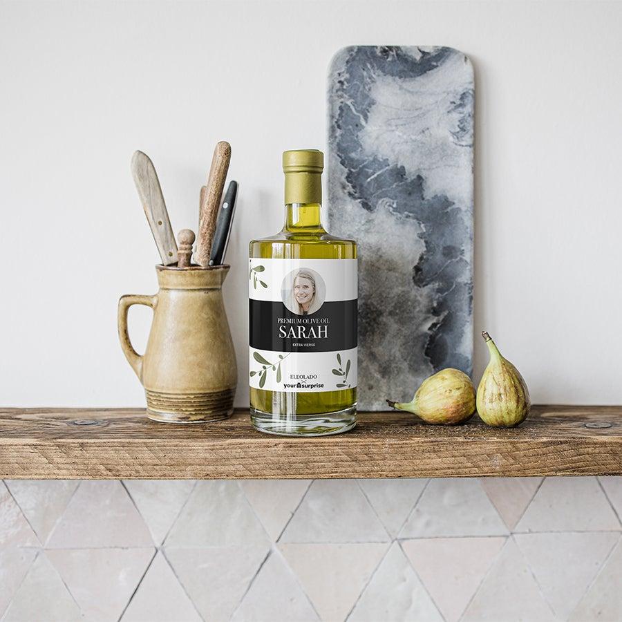 Personaliseret olivenolie - 500 ml