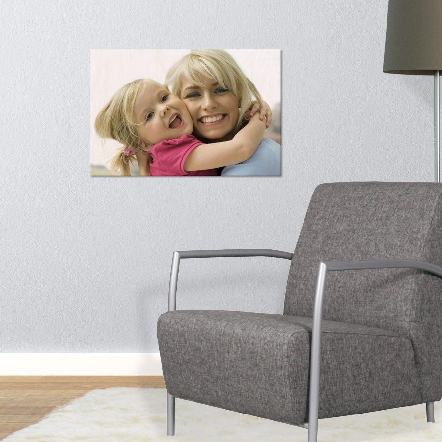Puinen valokuvataulu (60x40cm)