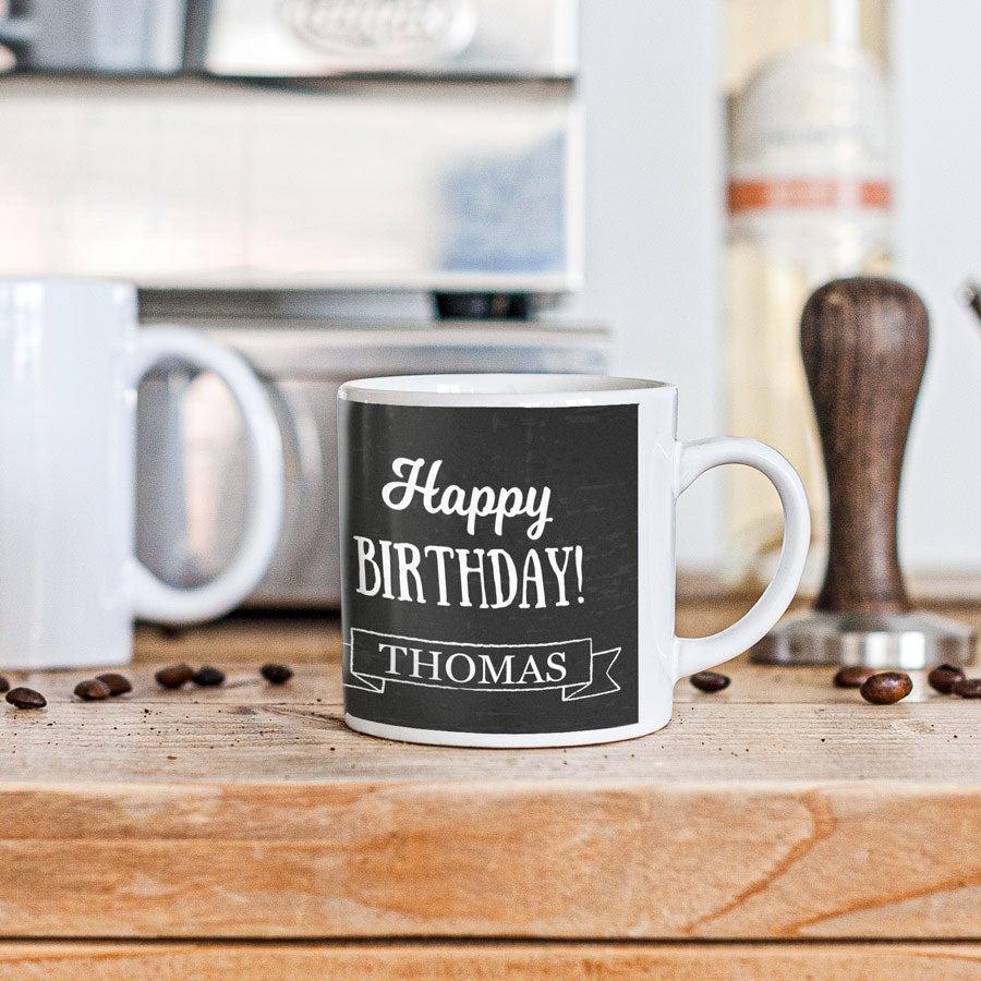 Pequena xícara de café