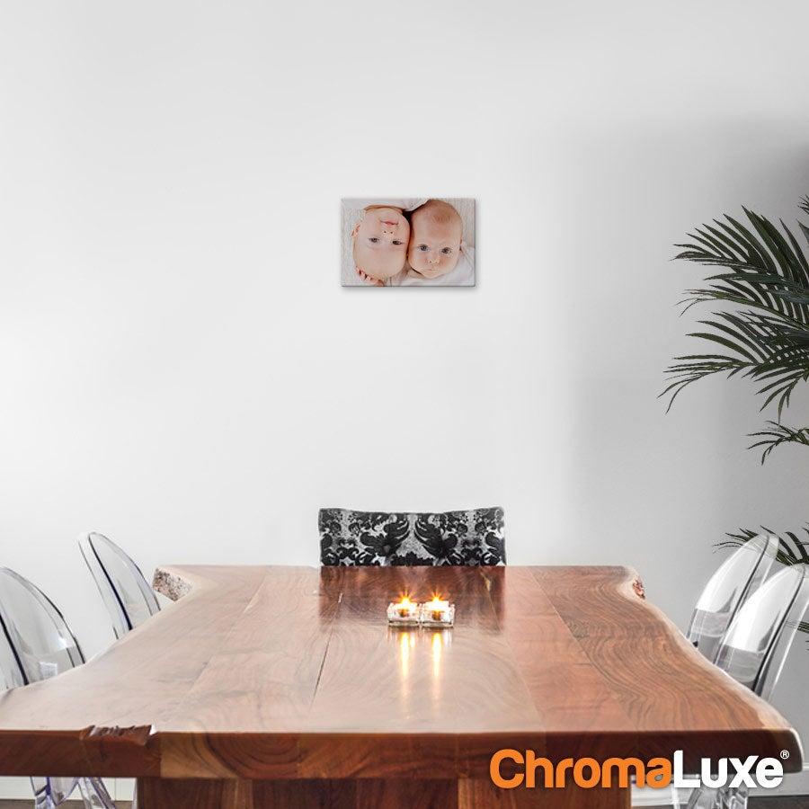 Painel de Fotografia em Alumínio ChromaLuxe (20x15cm)