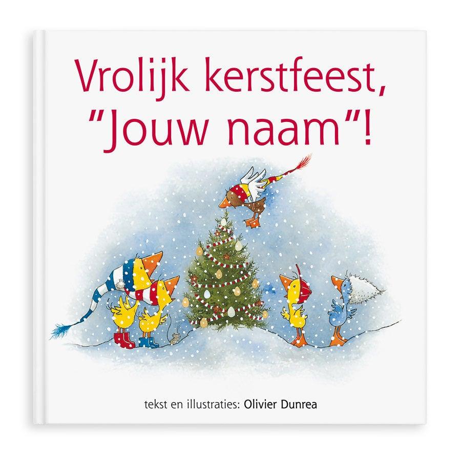 Boek met naam - Gonnie en Gijsje - Vrolijk kerstfeest! - Hardcover