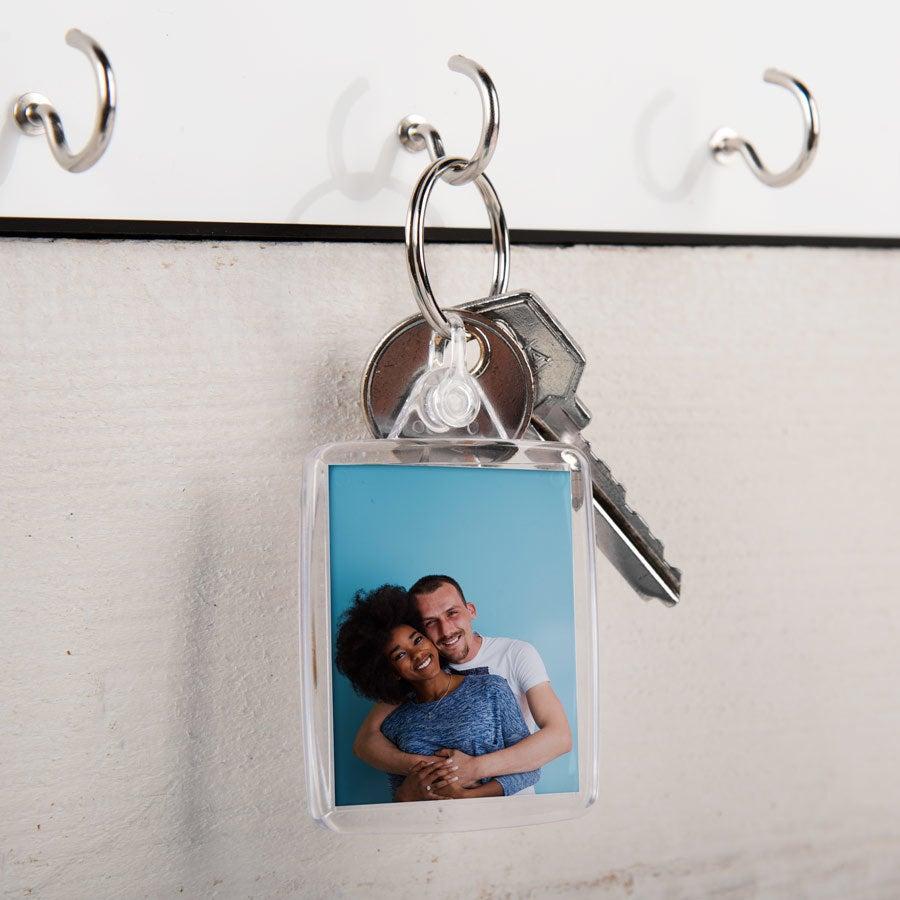 Acyrlic fénykép kulcstartó - kétoldalas (3-as készlet)