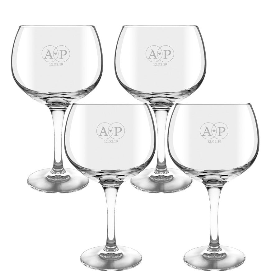 Gin Tonic glas - 4 stuks