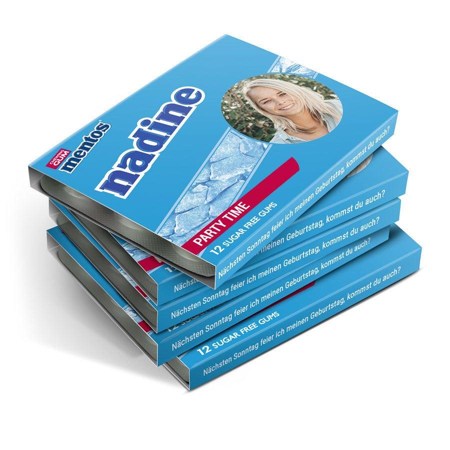 Mentos Kaugummipackungen - 8 Stück