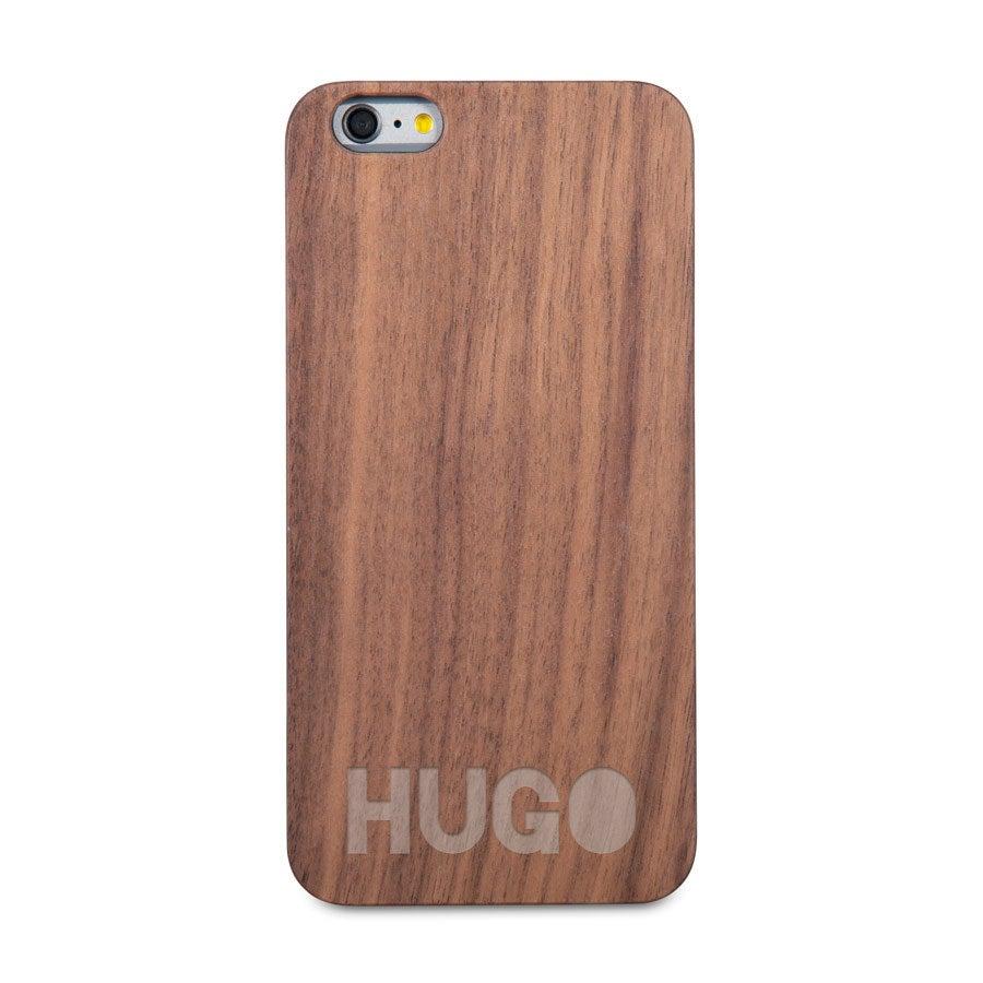 Coque en bois iPhone 6 plus - Gravée