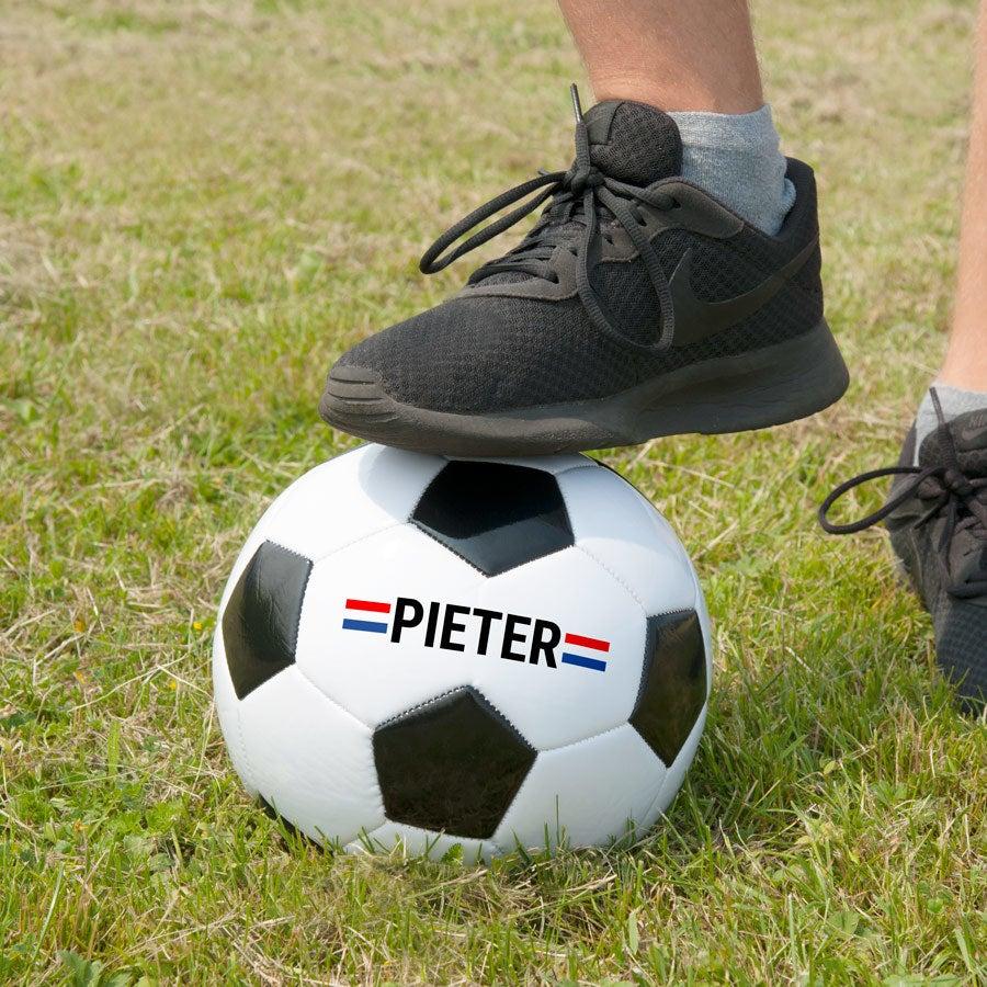 Voetbal met naam