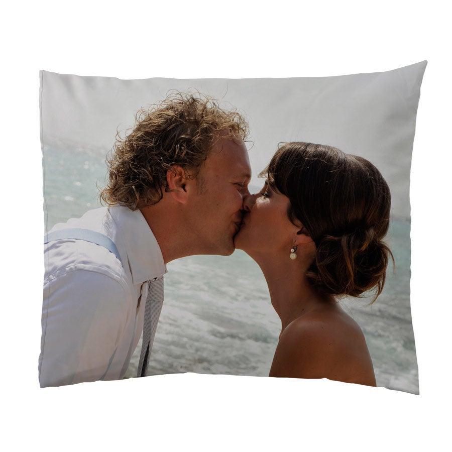 Povlak na polštář s fotografií - 60x70cm - bavlna